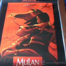 Cine: MULAN - ANIMACION - WALT DISNEY - MODELO 2. Lote 146014549