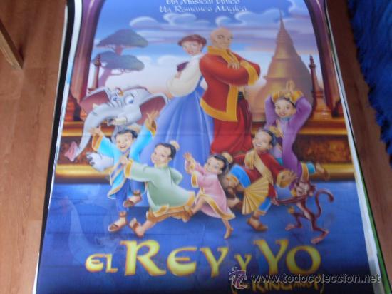 EL REY Y YO - ANIMACION - AÑO 1999 (Cine - Posters y Carteles - Infantil)