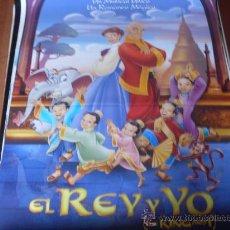 Cine: EL REY Y YO - ANIMACION - AÑO 1999. Lote 23944540