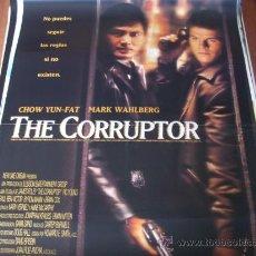 Cine: THE CORRUPTOR - CHOW YUN-FAT, MARK WAHLBERG, BRIAN COX, KIM CHAN, ELIZABETH LINDSEY. Lote 26506239