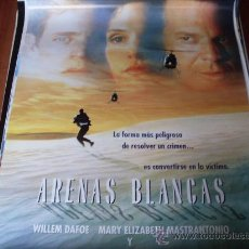 Cine: ARENAS BLANCAS - WILLEM DAFOE, MARY ELIZABETH MASTRANTONIO, MICKEY ROURKE, SAMUEL L. JACKSON. Lote 26506219