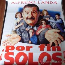 Cine: POR FIN SOLOS - ALFREDO LANDA, AMPARO LARRAÑAGA, MARÍA JOSÉ ALFONSO, JUANJO ARTERO. Lote 26524930