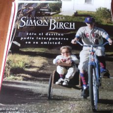 Cine: EL INOLVIDABLE SIMON BIRCH - JOSEPH MAZZELLO, OLIVER PLATT, DAVID STRATHAIRN, ASHLEY JUDD. Lote 26551685