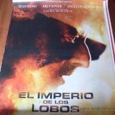Cine: EL IMPERIO DE LOS LOBOS - JEAN RENO, ARLY JOVER, JOCELYN QUIVRIN, LAURA MORANTE, PHILIPPE BAS. Lote 26551673