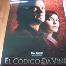 Cine: EL CODIGO DA VINCI - TOM HANKS, AUDREY TAUTOU, IAN MCKELLEN, ALFRED MOLINA, JEAN RENO. Lote 26551677