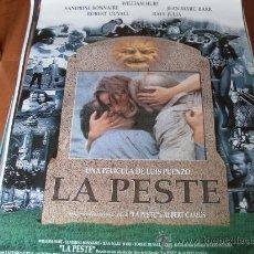 Cine: LA PESTE - WILLIAN HURT. ROBERT DUVALL - DIR. LUIS PUENZO. Lote 25240451