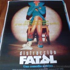 Cine: DISTRACCION FATAL - ARMAND ASSANTE, SEAN YOUNG, KATE NELLIGAN, SHERILYN FENN. Lote 26587963