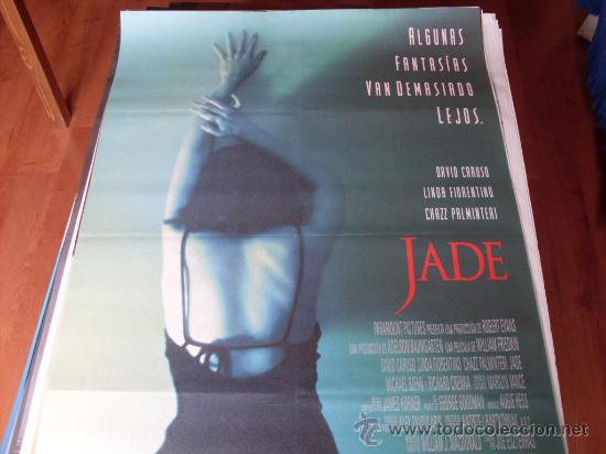 JADE - LINDA FIORENTINO, DAVID CARUSO, CHAZZ PALMINTERI - DIR.WILLIAM FRIEDKIN (Cine - Posters y Carteles - Suspense)