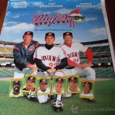 Cine: 3 GRANUJAS EN LA LIGA ( MAJOR LEAGUE II ) - TOM BERENGER, CHARLIE SHEEN, CORBIN BERNSEN. Lote 26587992