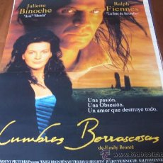 Cine: CUMBRES BORRASCOSAS - JULIETTE BINOCHE, RALPH FIENNES, SOPHIE WARD, SIMON SHEPHERD. Lote 25991004