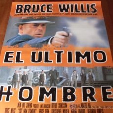 Cine: EL ULTIMO HOMBRE - BRUCE WILLIS, CHRISTOPHER WALKEN, BRUCE DERN - DIR. WALTER HILL. Lote 24818318