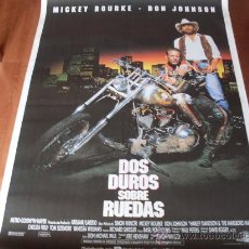 Cine: DOS DUROS SOBRE RUEDAS - DON JOHNSON, MICKEY ROURKE, TOM SIZEMORE, VANESSA L. WILLIAMS. Lote 108813658
