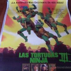 Cine: LAS TORTUGAS NINJA 3 - ELIAS KOTEAS, PAIGE TURCO, STUART WILSON, SAB SHIMONO. Lote 24271082