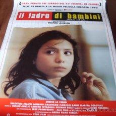 Cine: NIÑOS ROBADOS IL LADRO DI BAMBINI - ENRICO LO VERSO, VALENTINA SCALICI - DIR. GIANNI AMELIO. Lote 26619757