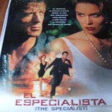 Cine: EL ESPECIALISTA - SHARON STONE, SYLVESTER STALLONE, JAMES WOODS, ROD STEIGER, ERIC ROBERTS. Lote 23676928
