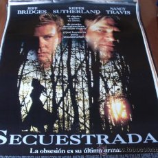 Cine: SECUESTRADA - JEFF BRIDGES, KIEFER SUTHERLAND, SANDRA BULLOCK, NANCY TRAVIS. Lote 25912700