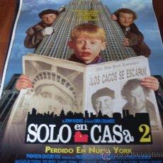 Cine: SOLO EN CASA 2 PERDIDO EN NUEVA YORK - MACAULAY CULKIN, JOE PESCI, DANIEL STERN. Lote 173805385