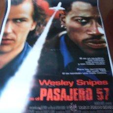 Cine: PASAJERO 57 - WESLEY SNIPES, BRUCE PAYNE, TOM SIZEMORE, ELIZABETH HURLEY. Lote 25384931