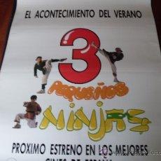 Cine: 3 PEQUEÑOS NINJAS (PREVIO) - VICTOR WONG, MICHAEL TREANOR, MAX ELLIOT SLADE. Lote 26619760