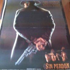 Cinéma: SIN PERDON - CLINT EASTWOOD, GENE HACKMAN, MORGAN FREEMAN, RICHARD HARRIS. Lote 57616512