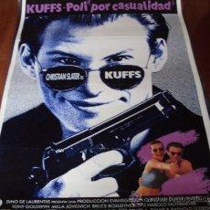 Cine: KUFFS POLI POR CASUALIDAD - CHRISTIAN SLATER, TONY GOLDWYN, MILLA JOVOVICH,ASHLEY JUDD. Lote 23715327