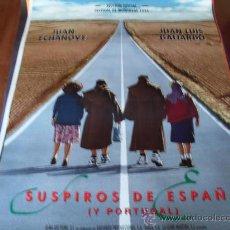 Cine: SUSPIROS DE ESPAÑA Y PORTUGAL - JUAN LUIS GALIARDO, JUAN ECHANOVE, ROSA MARÍA SARDÁ, NEUS ASENSI. Lote 26619799