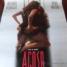 Cine: ACOSO - DEMI MOORE, MICHAEL DOUGLAS, DONALD SUTHERLAND. Lote 24775105