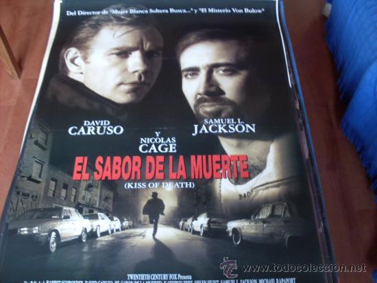 EL SABOR DE LA MUERTE - NICOLAS CAGE, DAVID CARUSO, SAMUEL L. JACKSON, MICHAEL RAPAPORT (Cine - Posters y Carteles - Suspense)