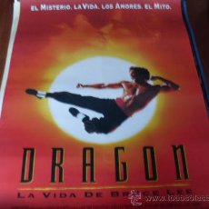 Cinema: DRAGON LA VIDA DE BRUCE LEE - JASON SCOTT LEE, LAUREN HOLLY, ROBERT WAGNER. Lote 24062688