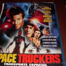 Cine: SPACE TRUCKERS TRANSPORTE ESPECIAL - DENNIS HOPPER, STEPHEN DORFF, DEBI MAZAR, CHARLES DANCE. Lote 25435960