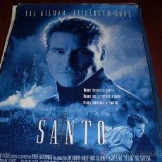 Cine: EL SANTO - VAL KILMER, ELISABETH SHUE - DIR. PHILLIP NOYCE. Lote 24326556
