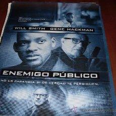 Cine: ENEMIGO PUBLICO - WILL SMITH, GENE HACKMAN, JON VOIGHT, LISA BONET - MODELO 2. Lote 28071879