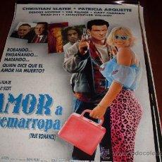 Cine: AMOR A QUEMARROPA - CHRISTIAN SLATER, PATRICIA ARQUETTE, DENNIS HOPPER, CHRISTOPHER WALKEN. Lote 37161953