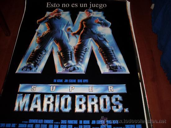 SUPER MARIO BROS - BOB HOSKINS, JOHN LEGUIZAMO, DENNIS HOPPER, SAMANTHA MATHIS (Cine - Posters y Carteles - Infantil)