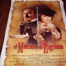 Cine: EL MAESTRO DE ESGRIMA - ASSUMPTA SERNA, OMERO ANTONUTTI - DIR. PEDRO OLEA. Lote 109425890