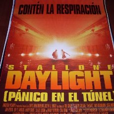 Cine: DAYLIGHT PANICO EN EL TUNEL - SYLVESTER STALLONE, AMY BRENNEMAN, VIGGO MORTENSEN, CLAIRE BLOOM. Lote 26643655