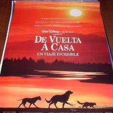 Cine: DE VUELTA A CASA UN VIAJE INCREIBLE - DISNEY. Lote 50547127