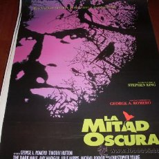 Cine: LA MITAD OSCURA - TIMOTHY HUTTON, MICHAEL ROOKER, AMY MADIGAN - DIR. GEORGE A. ROMERO. Lote 25085182