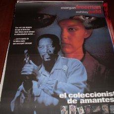 Cine: EL COLECCIONISTA DE AMANTES - MORGAN FREEMAN, ASHLEY JUDD, CARY ELWES, TONY GOLDWYN. Lote 26643659