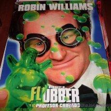 Cine: FLUBBER Y EL PROFESOR CHIFLADO - ROBIN WILLIAMS, MARCIA GAY HARDEN. Lote 25709235
