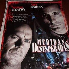Cine: MEDIDAS DESESPERADAS - MICHAEL KEATON, ANDY GARCIA - DIR.BARBET SCHROEDER. Lote 25709262