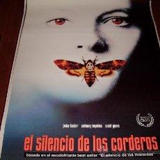 Cine: EL SILENCIO DE LOS CORDEROS - JODIE FOSTER, ANTHONY HOPKINS. Lote 110531816