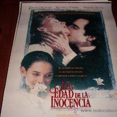 Cine: LA EDAD DE LA INOCENCIA - MICHELLE PFEIFFER, DANIEL DAY-LEWIS, WINONA RYDER - DIR.MARTIN SCORSESE. Lote 23608530