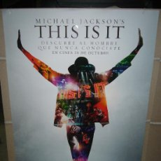 Cinéma: THIS IS IT MICHAEL JACKSON POSTER ORIGINAL 70X100. Lote 57476436
