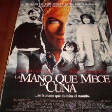 Cine: LA MANO QUE MECE LA CUNA - REBECCA DE MORNAY, ANNABELLA SCIORRA, MATT MCCOY, JULIANNE MOORE. Lote 26643632