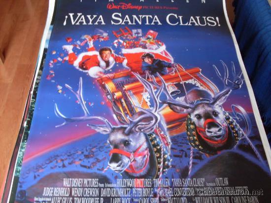 VAYA SANTA CLAUS - TIM ALLEN, JUDGE REINHOLD, WENDY CREWSON (MODELO 3) (Cine - Posters y Carteles - Infantil)