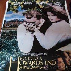Cine: REGRESO A HOWARDS END - VANESSA REDGRAVE, EMMA THOMPSON, ANTHONY HOPKINS, HELENA BONHAM CARTER. Lote 26703184
