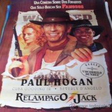 Cine: RELAMPAGO JACK - PAUL HOGAN, CUBA GOODING JR., BEVERLY D'ANGELO, L.Q. JONES. Lote 184599662