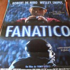 Cine: FANATICO - ROBERT DE NIRO, WESLEY SNIPES, BENICIO DEL TORO - DIR. TONY SCOTT (BEISBOL). Lote 25856215