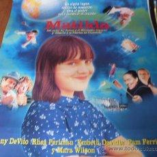 Cine: MATILDA - MARA WILSON, DANNY DEVITO, RHEA PERLMAN, EMBETH DAVIDTZ, PAM FERRIS - DIR. DANNY DEVITO. Lote 26723076